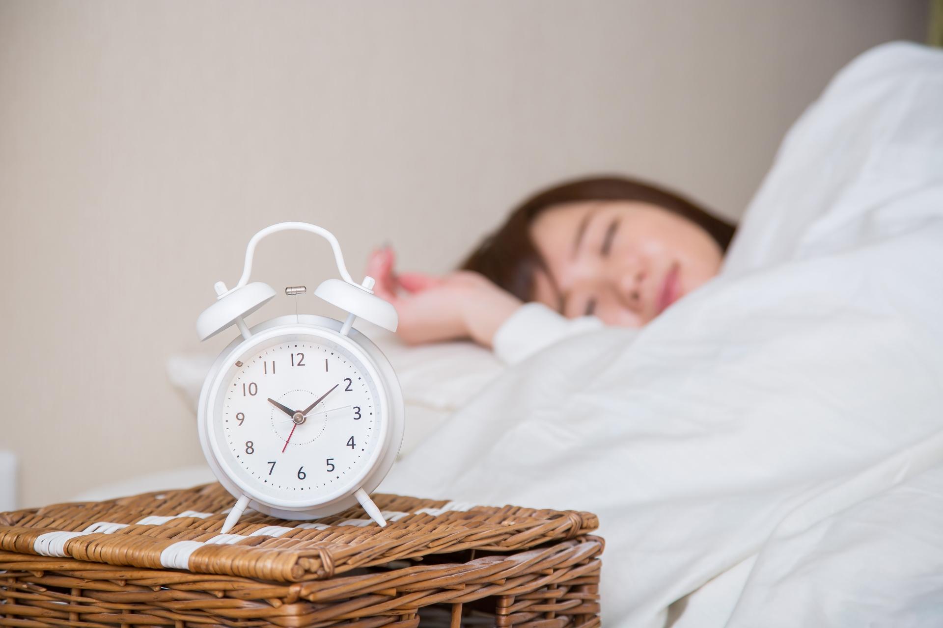 睡眠のリズム、ノンレム睡眠とレム睡眠